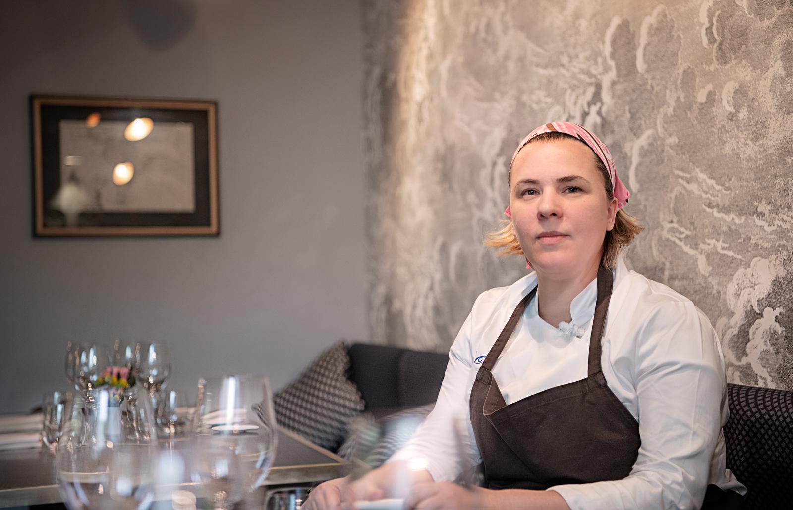 Entiana Osmenzeza chef del ristorante Coktail bar Gurdulù. Santo Sirito, Firenze